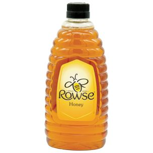 Rowse Squeezable Clear Honey 4x1.36kg