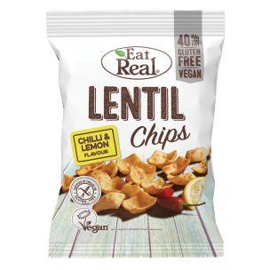Eat Real Lentil Chilli & Lemon 12x40g