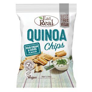 Eat Real Quinoa Sour Cream & Chive 12x30g