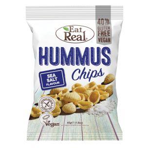 Eat Real Hummus Sea Salt 12x45g