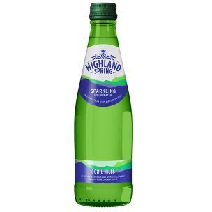Highland Spring Sparkling Water (Glass)-24x330ml