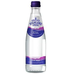 Highland Spring Still Water (Glass)-24x330ml