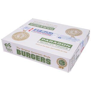 Ali Baba Halal Beef Burgers (4oz)-48x113g