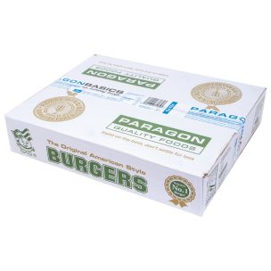 Paragon Basics Economy Halal Beef Burger  (4oz)-48x113g