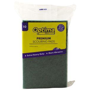 Optima Premium Scouring Pads-1x10