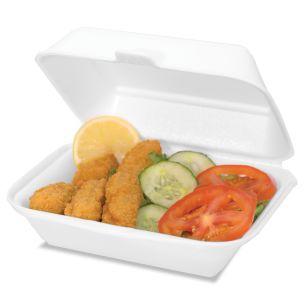 N9 (HP2) Burger & Chips Boxes (White) (185x43x150mm) 1x250