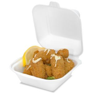 N7 Burger Boxes (White/Sq) (127x37x133mm) 1x500