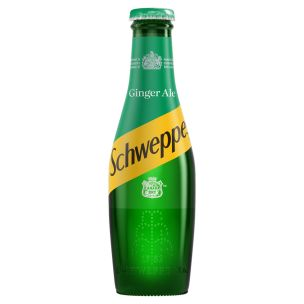 Schweppes Canada Dry Ginger Ale (Glass Bottles)-24x200ml