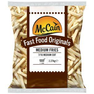 McCain Fast Food Originals (7/16) Medium Cut Fries 4x2.27kg
