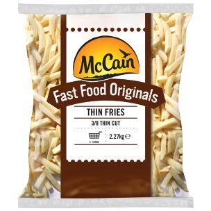 McCain Fast Food Originals (3/8) Thin Fries 4x2.27kg
