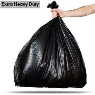 140L Black Extra Heavy Duty Compactor Sacks (max. load 20kg)-1x80