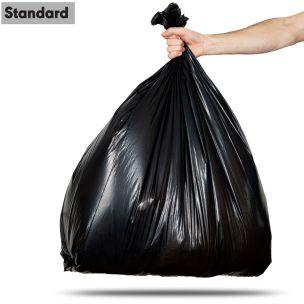 90L Black Standard Refuse Sacks (max. load 5kg)-1x200
