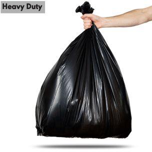 80L Black Heavy Duty Refuse Sacks (max. load 18kg)-1x100