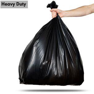 90L Black Heavy Duty Refuse Sacks (max. load 15kg)-1x200
