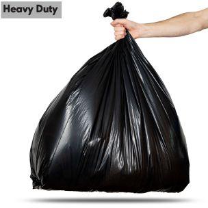 140L Black Heavy Duty Compactor Sacks (max. load 18kg)-1x100
