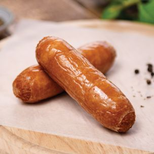 Brook House All Pork Sausages (W/T-8s) 1x4.54kg