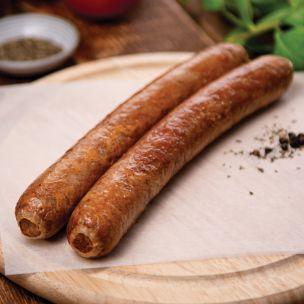 Brook House Halal Beef Sausages (B/T-4s) 1x4.54kg
