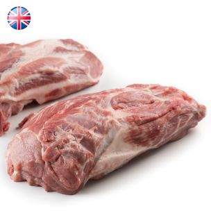 Frozen Raw UK Boneless Pork Collars 1x13.6kg