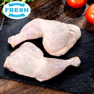 Fresh Halal Chicken Leg Quarters-1x10kg