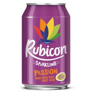 Rubicon Sparkling Passion Fruit-24x330ml