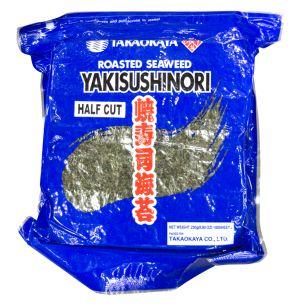 Kofuku Nori Roasted Seaweed (Yakinori B)(Half Cut-200 Sheets) 1x250g