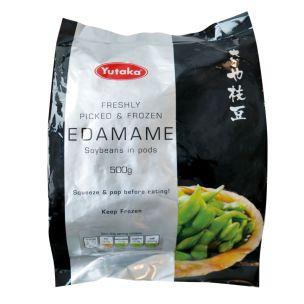 Yutaka Edamame Soybeans with Pods 1x500g