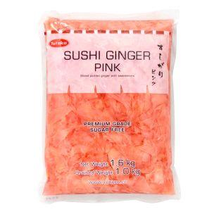Yutaka Sushi Ginger (Pink) 1x1.6kg
