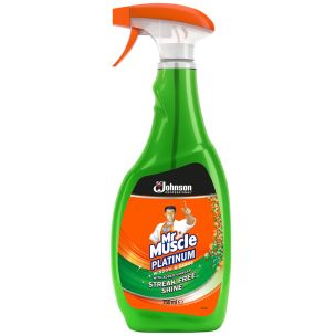 Mr Muscle Professional Window & Glass Cleaner Spray 1x750ml