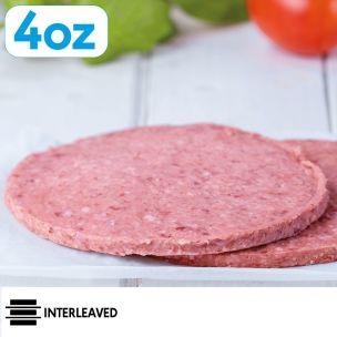 JJ Signature Beef Burgers  (4oz)-48x113g