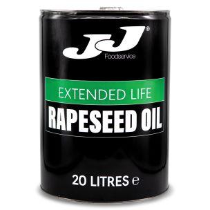 JJ Extended Life Rapeseed Oil (Drum) 1x20L