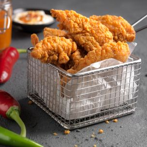 Paragon Halal Hot 'N' Spicy Chicken Mini Fillets 1x2kg