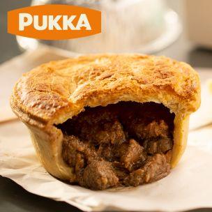 Pukka Unwrapped Cooked Steak & Kidney Pie-1x12