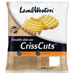 Lamb Weston Seasoned Crisscuts-4x2.5kg