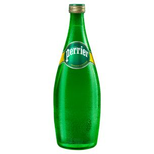 Perrier Water Glass Bottles-12x750ml