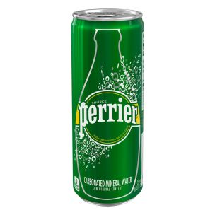 Perrier Sparkling Water Cans 35x250ml