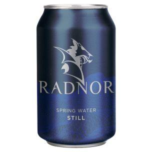 Radnor Still Spring Water Can 24x330ml