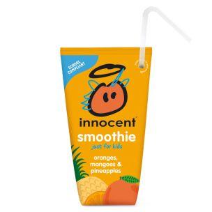 Innocent Orange Mango and Pineapple Smoothie For Kids 16x150ml