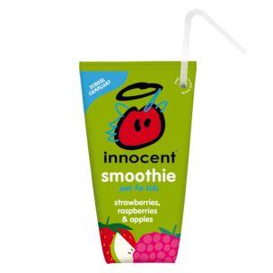 Innocent Strawberries Raspberries & Apples Smoothie For Kids 16x150ml
