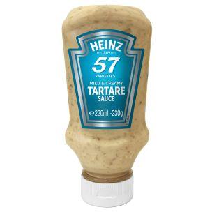 Heinz Tartare Sauce (Top Down Bottle) 8x220ml