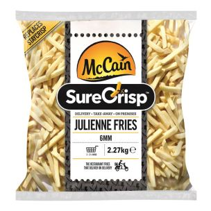 McCain SureCrisp Julienne Fries 4x2.27kg