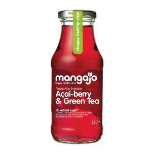 Mangajo Acai Berry & Green Tea-12x250ml