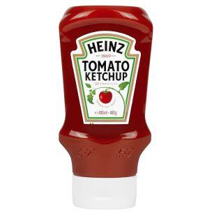 Heinz Tomato Ketchup (Top Down Bottle)-10x460g