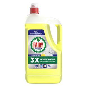 Fairy Professional Washing Up Liquid Lemon 1x5L