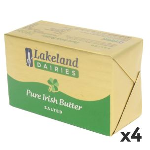 Lakeland Salted Butter 4x250g