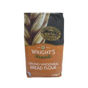 Wrights Wholemeal Bread Flour-5x1.5kg
