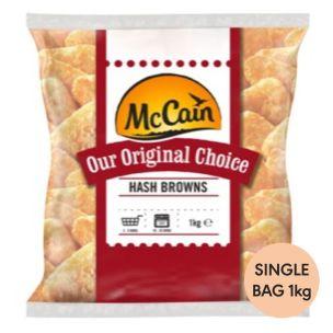 McCain Original Choice Hash Browns-1x1kg
