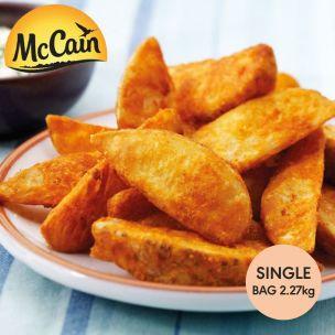 McCain Southern Fried Wedge Fries-1x2.27kg