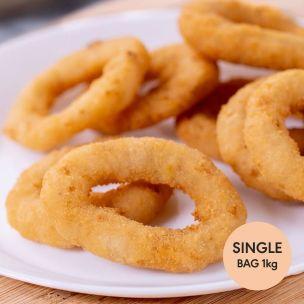 Aviko Breaded Onion Rings-1x1kg