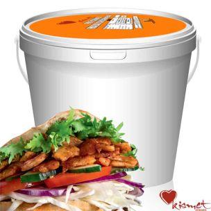 Kismet Halal Cooked & Cut Chicken Doner Kebab (Bucket) 1x2kg
