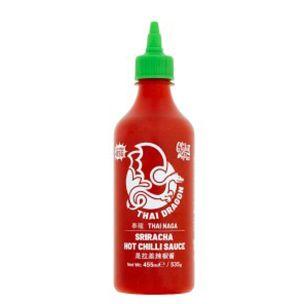 Thai Dragon Sriracha Hot Chilli Sauce (Bottle) - 1x455ml